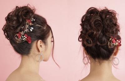 Bới tóc cô dâu