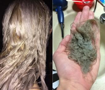 Tẩy tóc ẩn chứa những rủi ro gì?