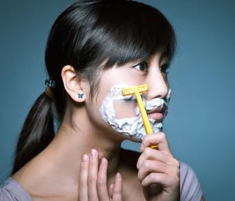 Lợi ích và tác hại cạo lông mặt