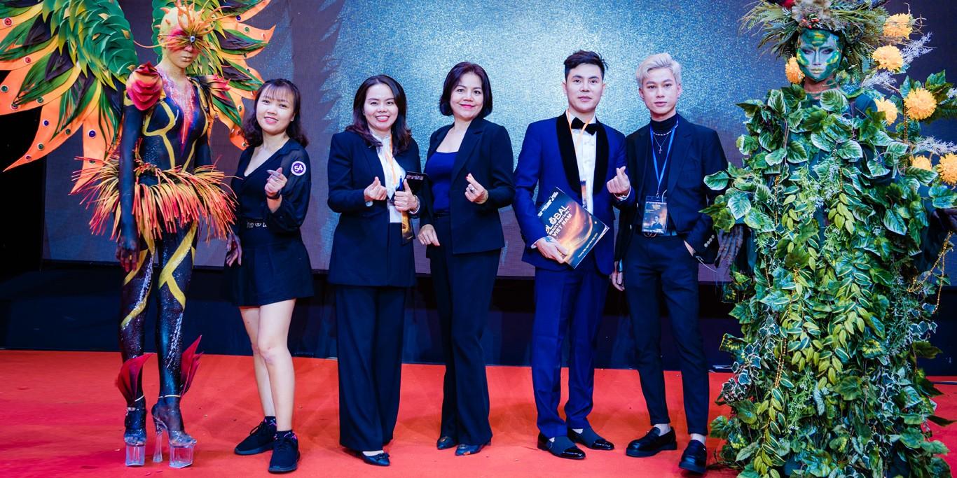 Master Ngô Cẩm Anh tham dự sự kiện Global Beauty Festival Viet Nam